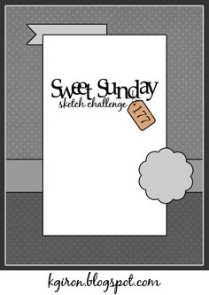the sweetest thing...: Sweet Sunday Sketch Challenge 177