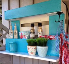 DIY Pallet Grill Shelf | 99 Pallets