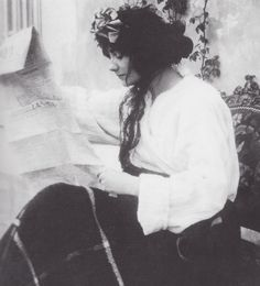 Young Coco Chanel at Etienne Balsan's chateau