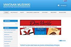 Vantaan Musiikki  #Kauppa #Verkkokaupparatkaisut