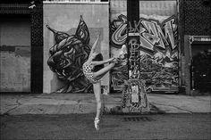 Ballerina project: sulle punte a spasso per la metropoli