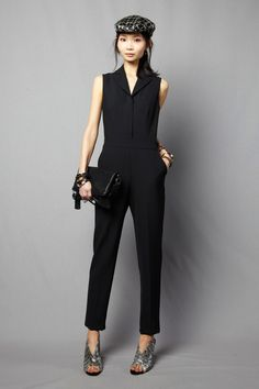 Jumpsuit. Trina Turk | Fall 2014 Ready-to-Wear Collection | Style.com