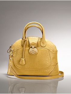 Beacon Ava Croc-embossed dome bag from Talbots...very ladylike.