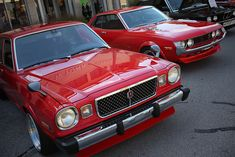1976 Toyota Celica and 1977 Toyota Cressida Classic Japanese Cars, Japanese Sports Cars, Best Classic Cars, Toyota Corolla, Toyota Celica, Retro Cars, Vintage Cars, Toyota Cressida, Bentley Mulsanne