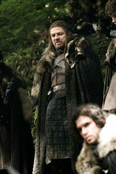 Ned Stark, Theon Greyjoy, Jon Snow - Game of throne