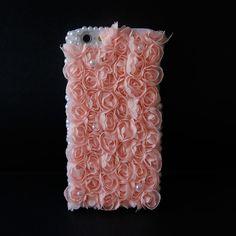 #3D #Flower + #Lace iPhone 6 Case (Baby Pink) - Fashion9shop.com