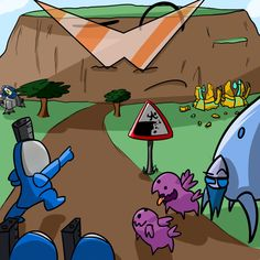 Great Fan Made Carbot StarCrafts Poster