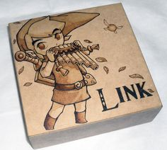 Link - Zelda Pyrography / woodburning Work In Prog by dcmorais on DeviantArt