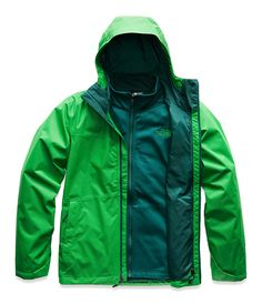 The North Face Men's Arrowood Triclimate Jacket 3 In 1 Jacket, Green Jacket, Vest Jacket, Elite Shorts, Triclimate Jacket, Waterproof Coat, Outdoor Gear, The North Face, Suits