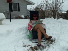Veda Cooke, Linville 	 Ready for Summer #WHSVsnow