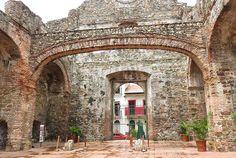 the flat arch in casco viejo panama city #panama
