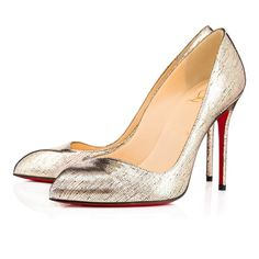 Christian Louboutin United States Official Online Boutique - Corneille 100 Platine Lame Mercure available online. Discover more Women Shoes by Christian Louboutin Louis Vuitton Clothing, Louboutin Online, Red Bottom Heels, Special Occasion Shoes, Christian Louboutin Women, Bridal Shoes, Pumps Heels, Louboutin Pumps, High Heels