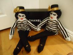 COCO CHANEL INSPIRED COLLECTIBLE DOLL CC LARGE 27