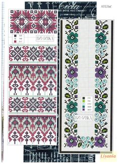 Cross Stitch Borders, Cross Stitching, Cross Stitch Embroidery, Embroidery Patterns, Cross Stitch Patterns, Knitting Patterns, Crochet Patterns, Hobbies And Crafts, Diy And Crafts