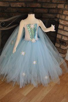 Queen Elsa Frozen Inspired Winter by on Etsy Frozen Tutu, Frozen Dress, Frozen Costume, Elsa Dress, Elsa Frozen, Frozen Queen, Kids Tutu, Tutus For Girls, Girls Dresses