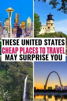 These Cheap Family Vacation Destinations in the US May Surprise You! Don't break the bank on your next family vacation. Check out our list of cheapest places to travel in the US with the kids! Us Destinations, Family Vacation Destinations, Vacation Trips, Vacation Travel, Vacation Ideas, Vacation Pictures, Usa Travel, Cheap Family Vacations, Vacations In The Us