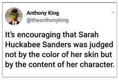 20 Hilarious Memes Mocking Sarah Huckabee Sanders - The Political Punchline Sarah Huckabee Sanders, Intersectional Feminism, Have Time, Encouragement, Funny Memes, Wisdom, Thoughts, Sayings, Words