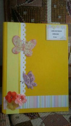 Caderno borboleta