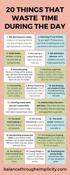 20 things that waste time during the day &; Balance Through Simplicity 20 things that waste time during the day &; Balance Through Simplicity Rayowag Life Advice, Good Advice, Motivacional Quotes, Wisdom Quotes, Cover Quotes, Good Time Management, Time Management Quotes, Time Management Strategies, Self Care Activities