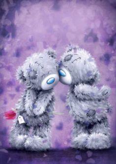 Be My Valentine ♡ Tatty Teddy tjn Teddy Bear Quotes, Teddy Bear Images, Teddy Bear Pictures, Tatty Teddy, Cute Images, Cute Pictures, Urso Bear, Teady Bear, Love Bear