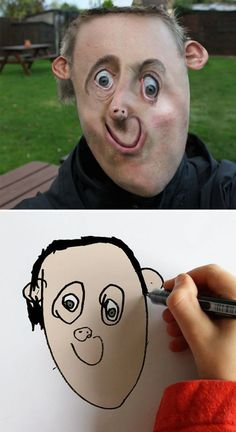 Dad Turns His Child's Drawings Into Reality With Hilarious Results - UltraLinx