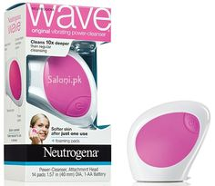 The first of its kind, the Neutrogena Wave original vibrating power-cleanser is still shaking up the cleansing world with its gentle vibrations. It's guaranteed to leave skin feeling softer and smoother after just 1 use, and cleans 10x deeper to remove more oil, dirt, and makeup than traditional cleansing.