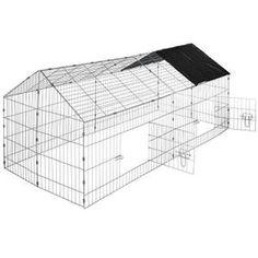 CLAPIER Cage, Clapier, Enclos, Parc d'Extérieur à Lapins e