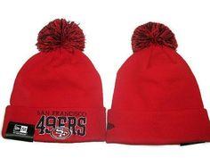 b6f80c6b630 NFL San Francisco 49ers Logo Stitched Knit Beanies 011 Cheap Beanies