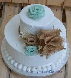Rustic Bridal Shower Cakes