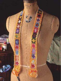 Chatelaine  Free crochet pattern  interesting!