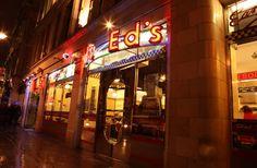 Ed's Easy Diner in Rupert St. London - the best burger in London !