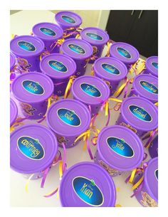 Tangled party buckets - to order email jackie@babazoo.co.za