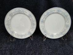 "Mikasa Dresden Rose Salad Plates L9009 7 1/2"" Set of 2 | DR Vintage Dinnerware Replacements Vintage Dinnerware, 2 Set, Salad Plates, Mikasa, Dresden, Decorative Plates, Modern, Home Decor, Trendy Tree"