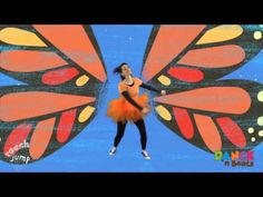 Preschool Learn to Dance: Butterfly Wings #MotherGooseTime #DancenBeats - This song invites children to build patterning and rhythm skills. Order all 12 Butterfly and Bumble Bee Preschool Song and Dances at http://www.mothergoosetime.com/dance-...