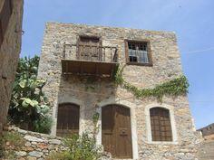 Deserted house on Spinalonga Island, Greece