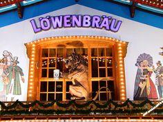 Löwenbräu- Oktoberfest Munich --Have your own original Oktoberfest photos? Inspire the journey at trover.com! We're travel photo junkies.--