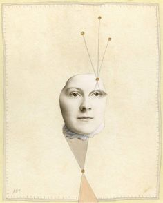 """Saatchi Art Artist Athena Petra Tasiopoulos; Collage, """"Perspective - SOLD"""" #art"""