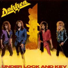 db3f2dc3d07 Dokken - Under Lock And Key Hair Bands