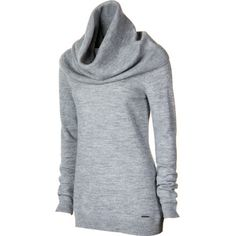 SmartWool Cascade Creek Cowl Neck Sweater - Women's  The sweaters on this site are awesome but VERY expensive