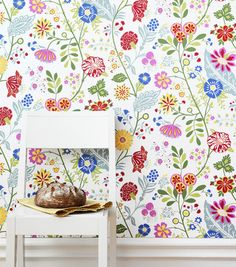 Sandberg - Amelie (NW) Light Green Kids Wallpaper by Sandberg | JUST KIDS WALLPAPER
