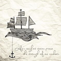 anchors, font, amazing people in my life, storm, quot