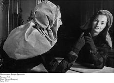 Model Barbara Rapponet, Paris, 1944