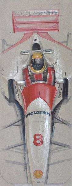 A personal favourite from my Etsy shop https://www.etsy.com/listing/548266268/ayrton-senna-mclaren-mp-48-formula-1