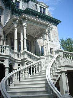Victorian house - wonderful staircase