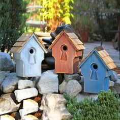 Heartwood Peeper Keeper Bird House #ATGStores