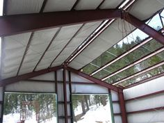 Metal Building Insulation Options and Materials for Insulating Steel Buildings. Metal Building Outlet has the Best Prices on Energy Saving Insulation Materials.