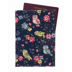 Cath Kidston Mini owls & flowers passport holder