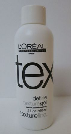L'oreal Professionnel DEFINE Texture GEL 2 fl oz Textureline ARTEC HTF Rare #LOreal