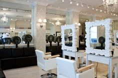 curly hair salon opens in soho.. cute stations