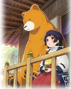 El Anime Kumamiko revela nueva imagen promocional y estreno en Abril del 2016.